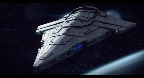 Imperial Star Destroyer War Galleon