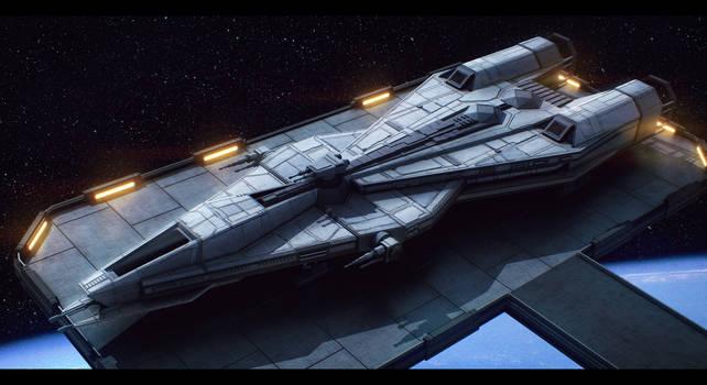 Star Wars Mandalorian Superlight Corvette
