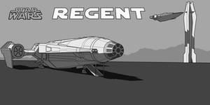 Star Wars Regent Comic Book Cover by AdamKop