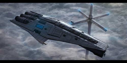 Star Wars Mandalorian Cruiser