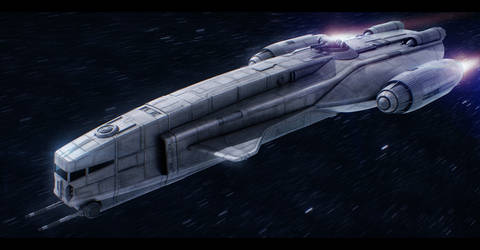 Star Wars YV-260 Light Freighter by AdamKop