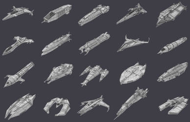 Game Ships Collection