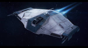 Star Wars Bomber Prototype by AdamKop