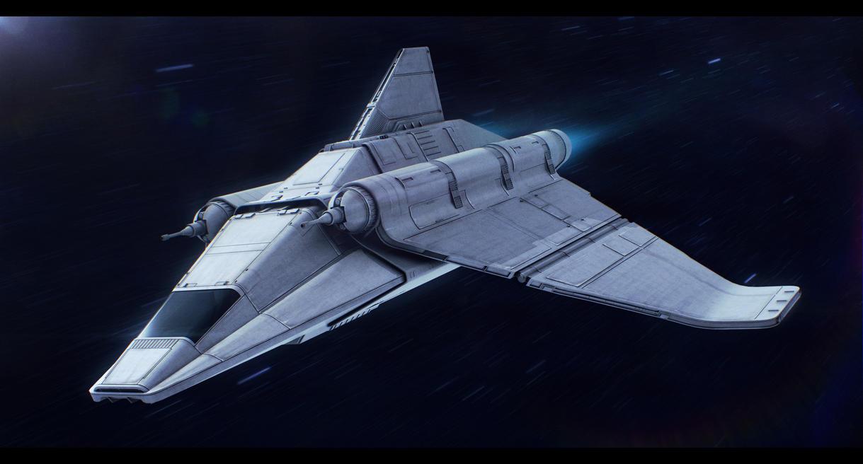 Star Wars Cygnus Spaceworks Personal Shuttle by AdamKop
