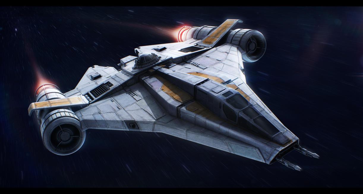 Star Wars Koensayr ETL-14 assault starfighter by AdamKop ...