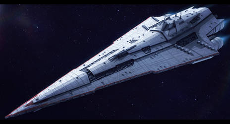 Star Wars Imperial Star Destroyer Commission