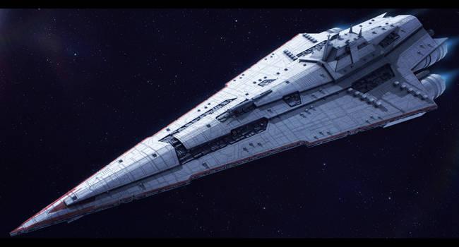Star Wars Imperial Star Destroyer Commission