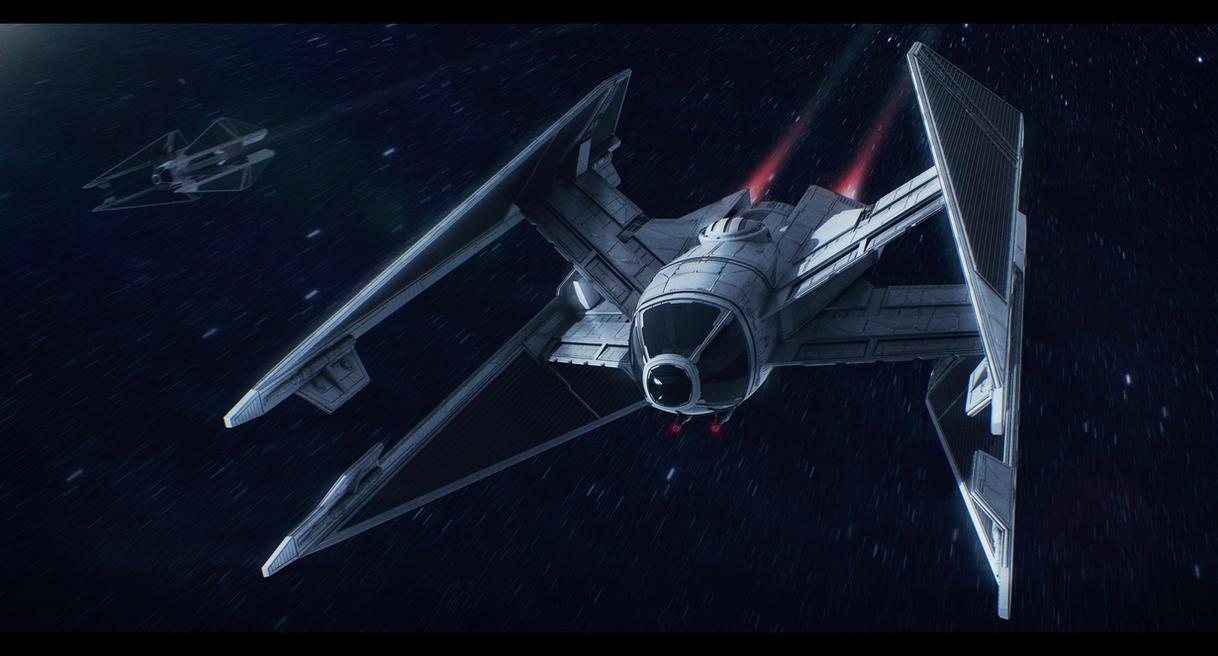 Star Wars Sienar Fleet Systems Swift TIE by AdamKop