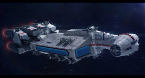 Star Wars FarStar 1.2 Commission by AdamKop