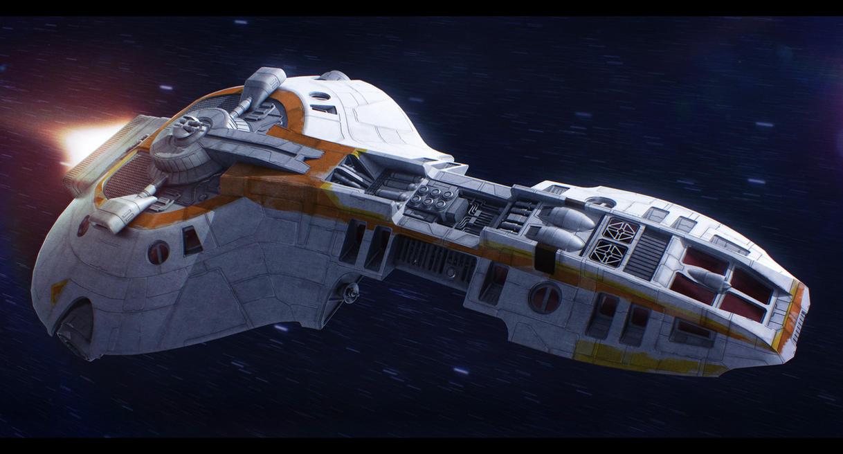 Star Wars E-9 Loronar Explorer by AdamKop
