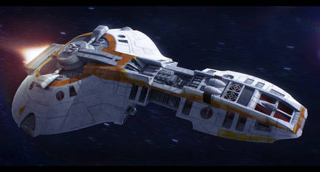Star Wars E-9 Loronar Explorer