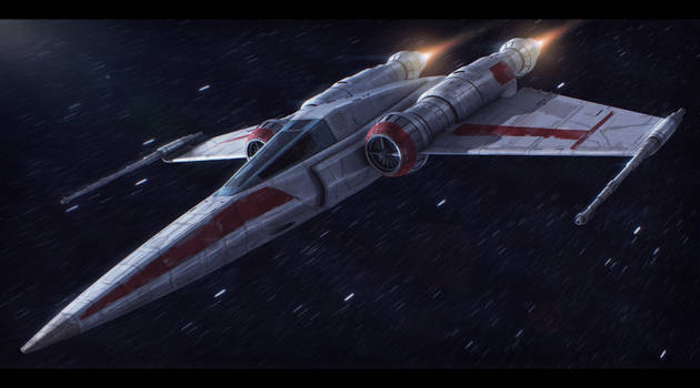 Star Wars Z-95 redesign by AdamKop