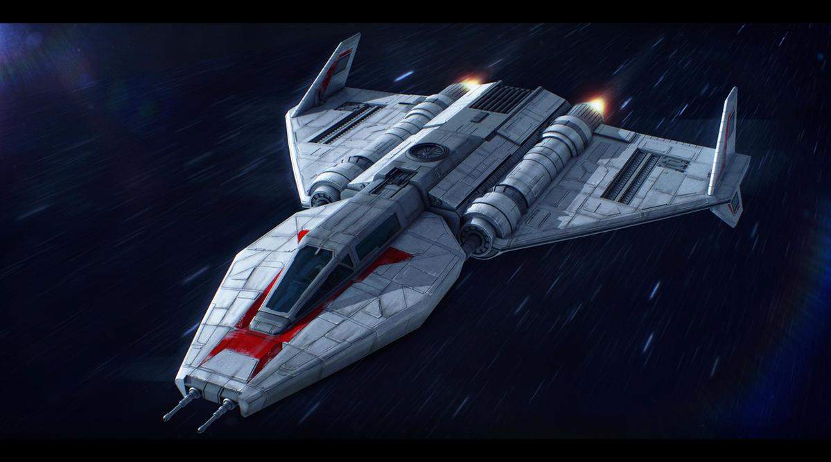 Star Wars Toscan 8-Q Fighter by AdamKop