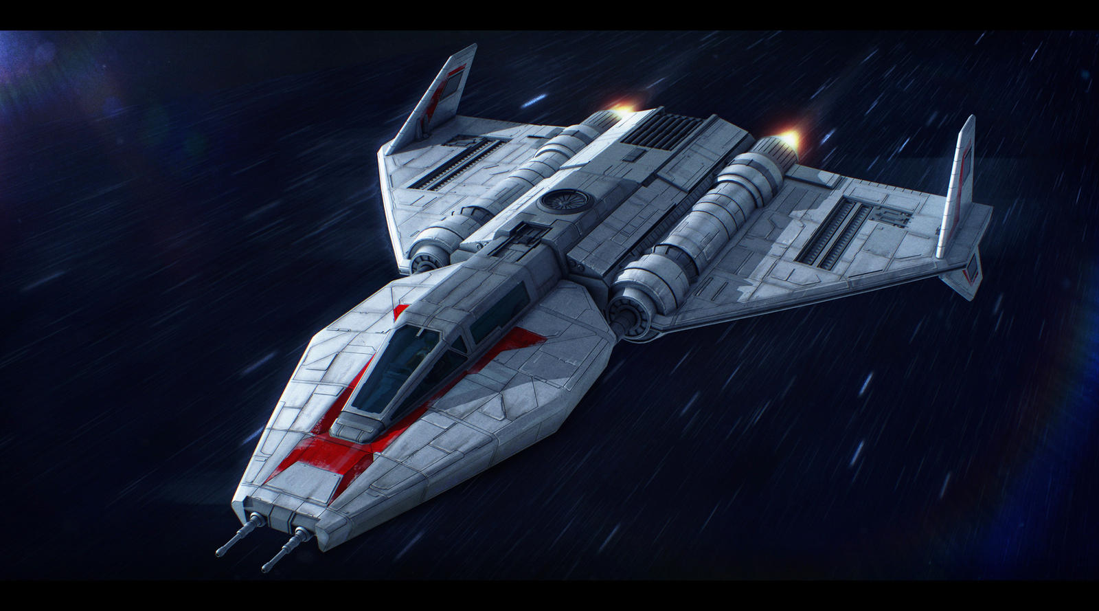 Star Wars Toscan 8-Q Fighter