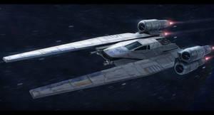 Star Wars Rogue One U-Wing by AdamKop