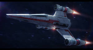 Star Wars R60 T-Wing Interceptor