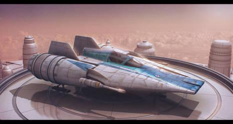 Star Wars Incom RZ-1 Mark III A-Wing Advanced