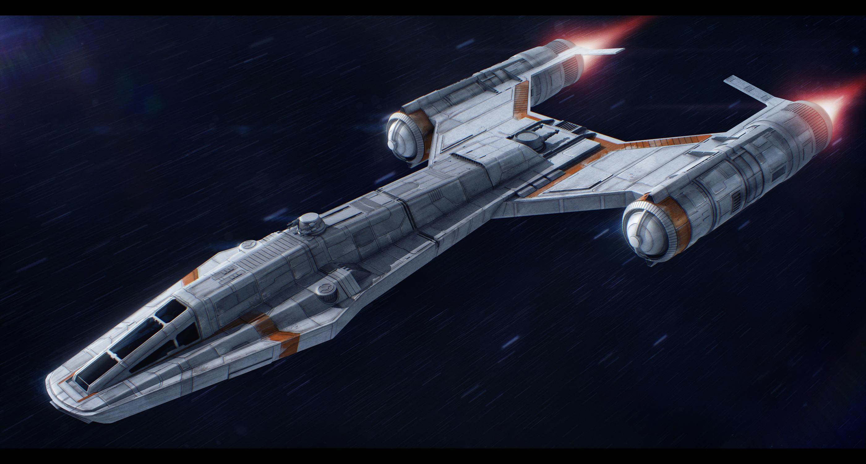 Star Wars Koensayr P-22 Sentry by AdamKop