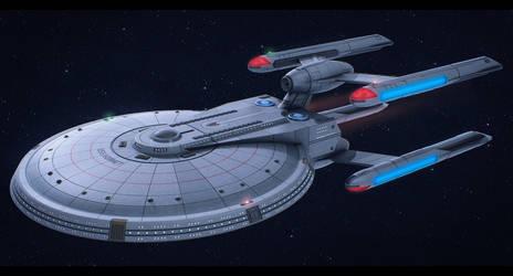 Star Trek USS Hornet by AdamKop