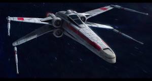 Star Wars Incom T-65A Republic X-Wing