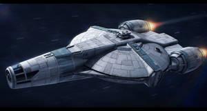 Star Wars The Horizon Evader by AdamKop