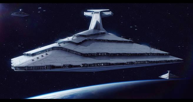 Star Wars Rothana H.E. Imperator-class SD by AdamKop