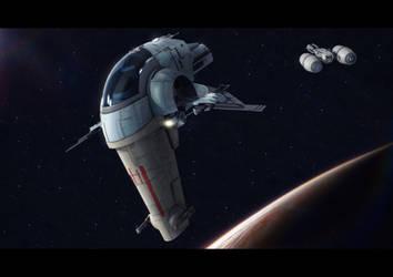 Star Wars Shrike and Tanker