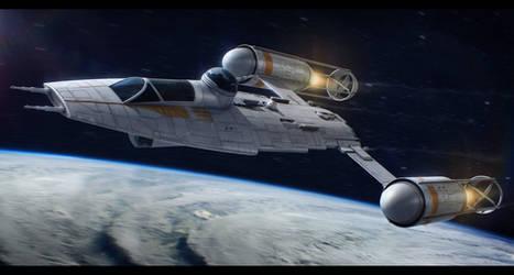 Star Wars Koensayr Manufacturing BTL-Y3 Y-Wing by AdamKop