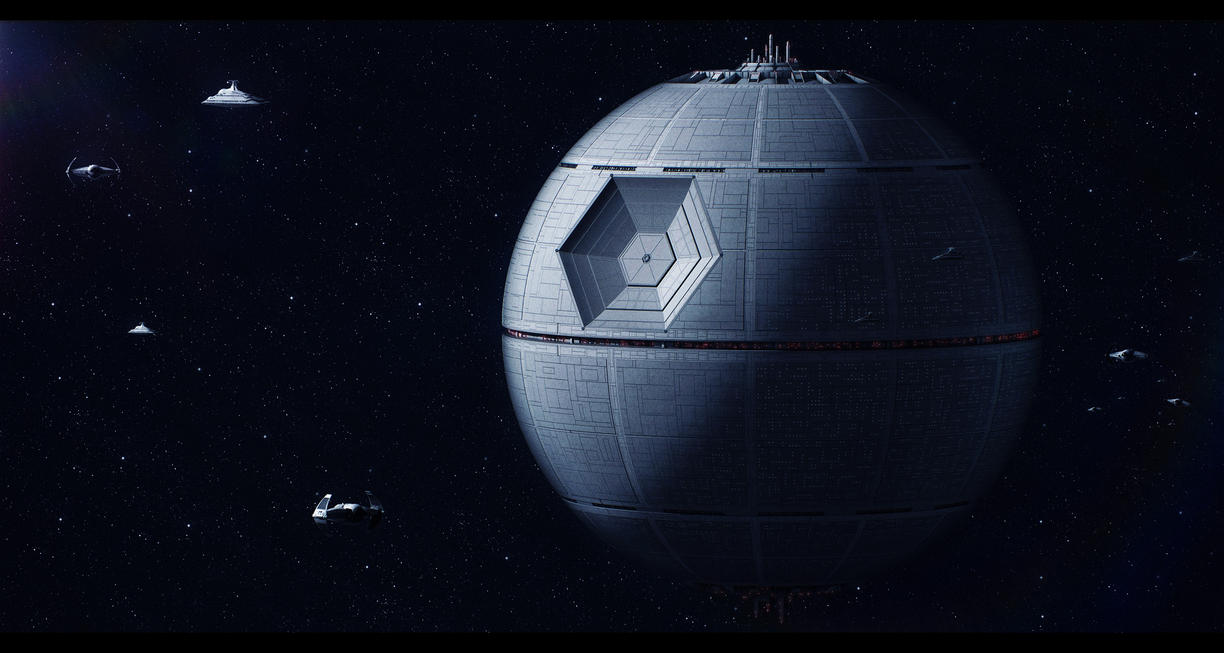 Star Wars Tarkin's Death Star by AdamKop