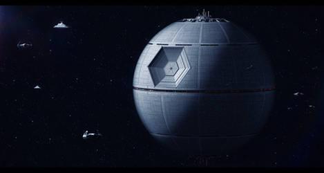 Star Wars Tarkin's Death Star by AdamKop
