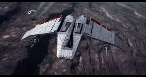 Star Wars Rogue Squadron V-Wing by AdamKop