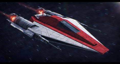 Star Wars Kuat Systems Eta-4 Interceptor