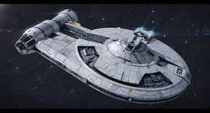 Star Wars - Outrider by AdamKop