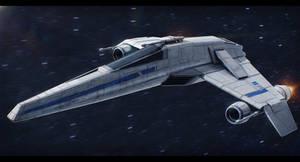 Star Wars E-Wing by AdamKop