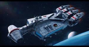 Star Wars FarStar Mark II by AdamKop
