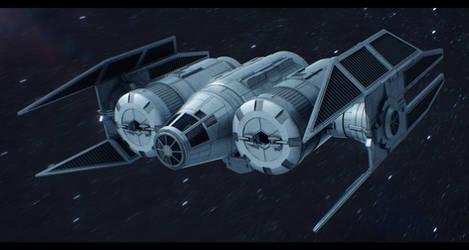 Star Wars TIE Archer by AdamKop