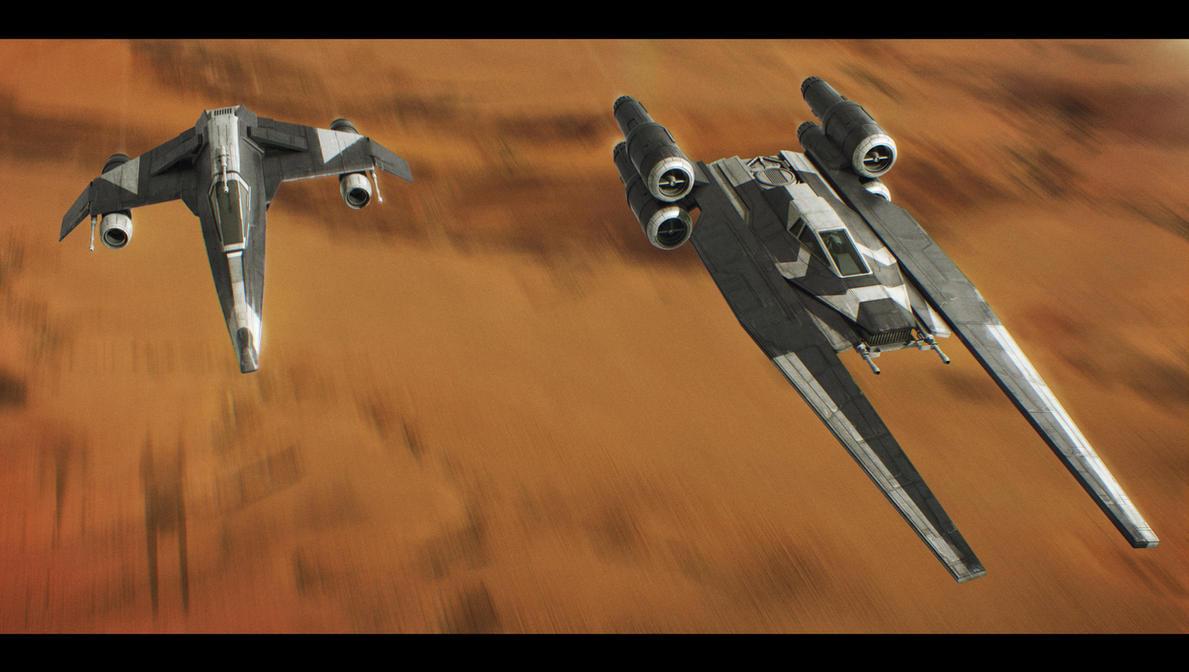 Star Wars Saw Gerrera's Squadron by AdamKop