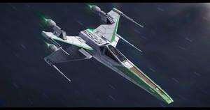 Star Wars Incom/Frei-Tek T-65D1-A3 X-Wing by AdamKop