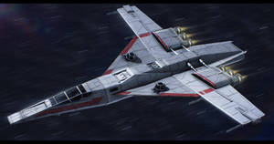 Star Wars Koensayr/Incom TB-91 Star Mace bomber