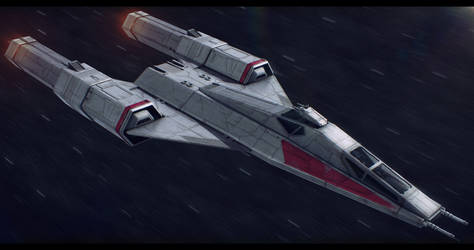 Star Wars Koensayr/Subpro BTL-Y6 Super Y-Wing