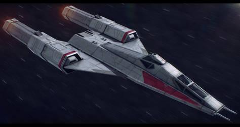 Star Wars Koensayr/Subpro BTL-Y6 Super Y-Wing by AdamKop
