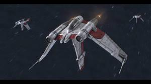 Star Wars Clone Wars V-19 Torrent Fighter