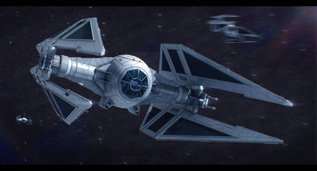 Star Wars Sienar Systems Engineering TIE/Ac by AdamKop