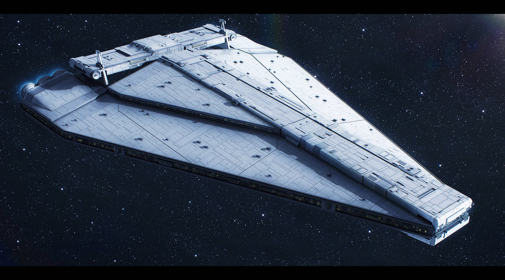 Star Wars Dominator-class SD by AdamKop
