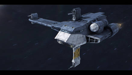 Star Wars Clone Wars: Twilight - G9 Rigger-class by AdamKop