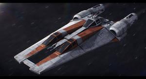 Star Wars Koensayr BTL-H6 H-Wing by AdamKop