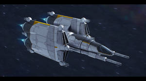 Imperian GunStar Commission by AdamKop
