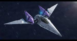 Starfox Arwing redesign