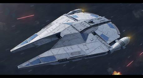 Star Wars - Custom YT Freighter