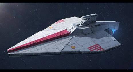 Star Wars Acclamator-class Assault Ship